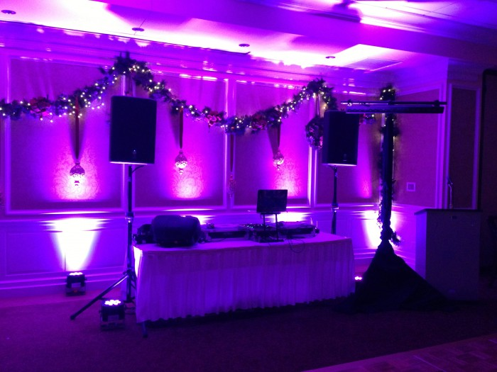 MItzvah Lighting, Lights, uplighting