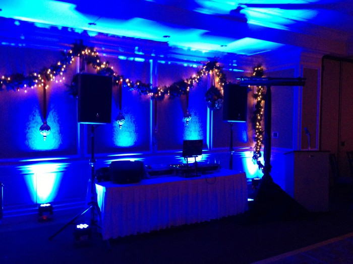 Mitzvah Lighting, lights, uplights